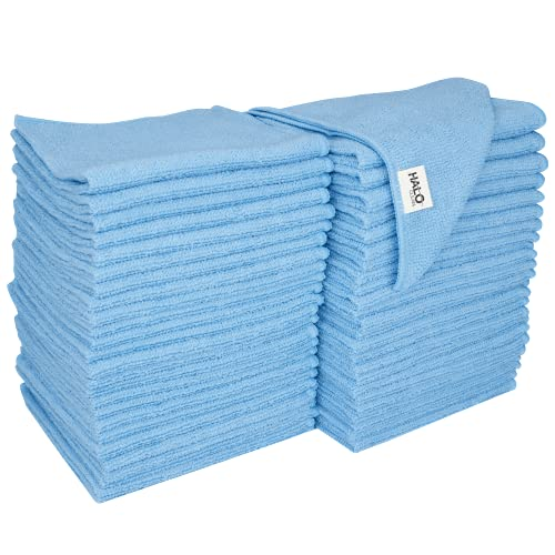 S&T INC. Microfiber Cleaning Cloths Reusable and Lint-Free Towels for Home, Kitchen and Auto