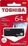 Toshiba USB3.0 Flash Drive 64GB USB 3.0 64G Flash Disk TransMemory U365 Read 150MB/s Slide (THN-U365K0640A4)