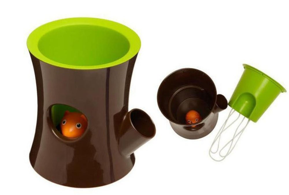 Trustbuy Squirrel Self-watering Flower Pot Plant Pot for Indoor Plants Home Decor Garden Decor