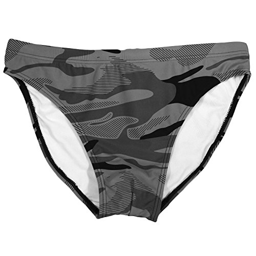 Taddlee Sexy Bademode Herren Camo Badeanzüge Badehose Bikini Gay Low Rise Pouch - Mehrfarbig - Medium