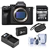 Sony Alpha a7S III Mirrorless Digital Camera Body Bundle with ProGrade 128GB UHS-II V90 SD Card, Extra Battery, Compact Charger, Memory Wallet, Cleaning Kit