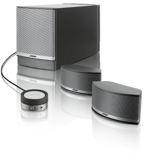 Bose ® Companion 5 Multimedia Lautsprecher System, silber