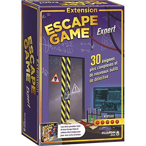 Dujardin Jeux - Escape Game - L'Extension Experts