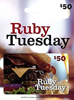 ruby tuesday gift card value
