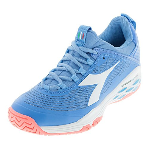 Diadora Womens Speed Blushield Fly Ag Sneakers Shoes Casual - Blue - Size 8.5 B
