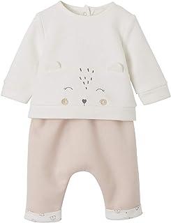 VERTBAUDET Ensemble bébé naissance sweat + pantalon Nude 3M - 60CM