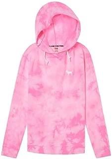 Victoria's Secret Pink Hoodie Campus Crossover Tunic Sweatshirt