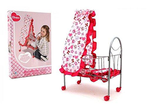 Globo Toys 37377 Letto a baldacchino da Bimbo per Bambole
