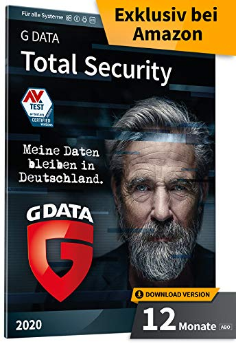 G DATA Total Security 2020 | 10 PC - 1 Jahr | Download - Jährliches Abo | Windows, Mac, Android, iOS | Made in Germany