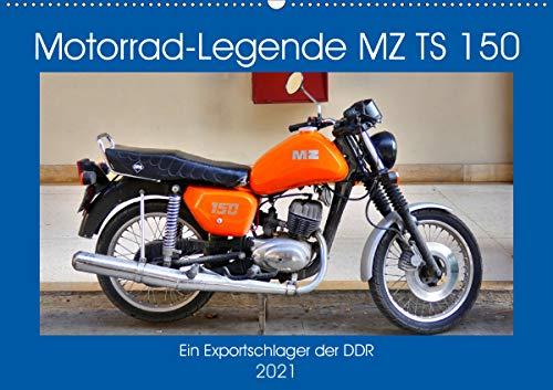 pas cher un bon Motorcycle Legend MZTS 150 – GDR Export Hit (Calendrier mural 2021 DIN A2 Paysage):…