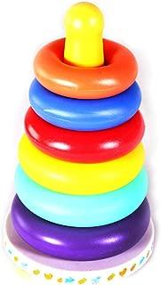 Konrev 積み木 おもちゃ カラフル 柔らか タンブラー 想像力を育む知育玩具 指先訓練 保育所・児童館用品 キッズ 男の子 女の子 誕生日 クリスマス ギフト 出産祝い 入園祝い 幼稚園