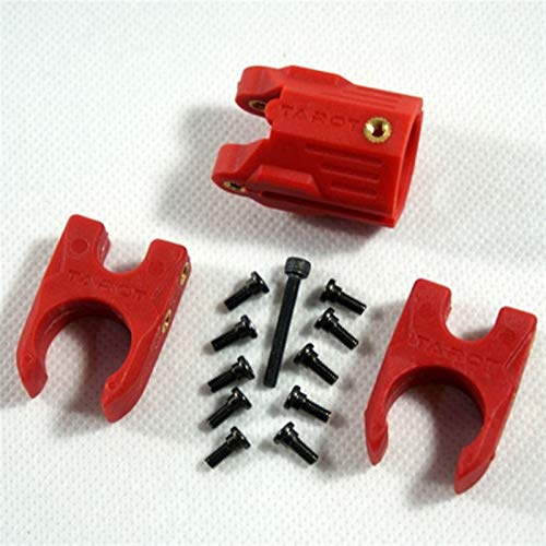 HONG YI-HAT Drone Accessories for Ironman Sport Fy680 680Pro 680 Pro 690S Frame Plastic Folding Arm Mount Screw Drone Spare Parts (Color : Red)