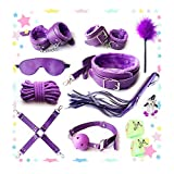 Purple Nylon Strap Set For Relaxing in Bedroom 10pcs with gifts