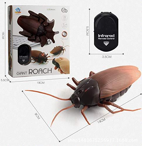 Morza Control Remoto Mock Cucaracha Falso Juguete de Halloween de la araña Hormiga Insectos Broma Broma Juguete Truco de Miedo