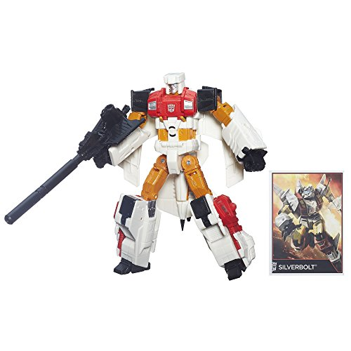 Transformers Generations Combiner Wars Voyager Class Silverbolt Figure by