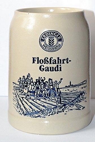 Erdinger weissbräu - Jarra de cerveza de - edición limitada - rafting-Gaudí