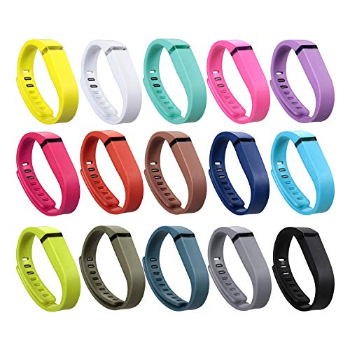 i-smile Replacement Bands with Metal Clasps for Fitbit Flex /