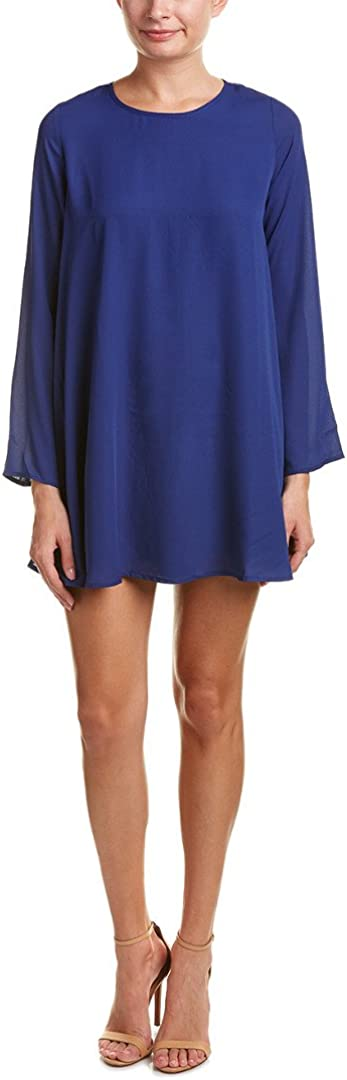 Lucca Couture Women's Long Sleeve Shift Dress