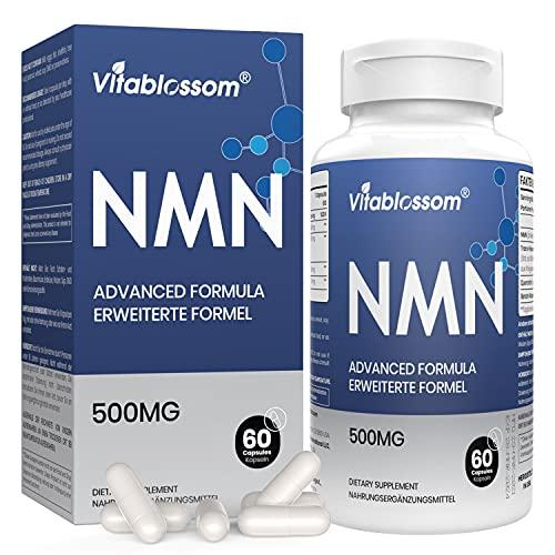 NAD+ booster Supplement 750mg Enthält alle 4 Inhaltsstoffe in 1 Kapsel   Advanced Formula   mit 99{80f20fcfb0fd715a7866121ac352bbfc1d4a998349002aa7e383f7fa34c33275} Trans-Resveratrol und Cofaktoren   Unterstützt gesundes Altern (60 Count, Pack of 1)