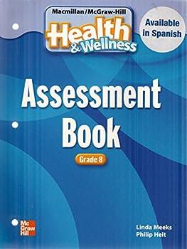 Paperback Health&Wellness Assessment Book Grade 8 Book