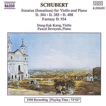 Schubert: Violin Sonatas & Fantasy in C Major