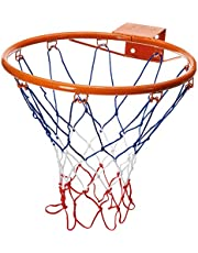 Raisco 46CCM Basketball Ring with Net (Orange)