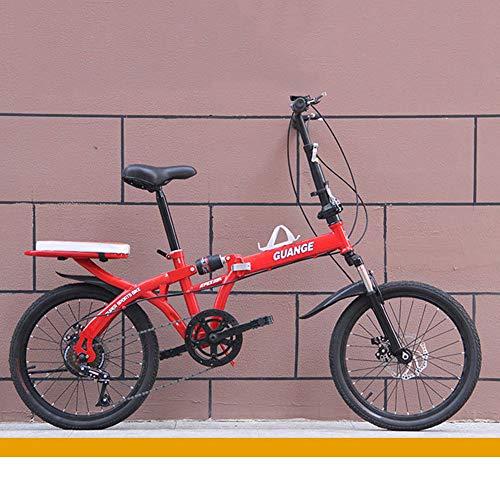 LYTLD Bici Pieghevoli, Folding Bike, Mountain Bike Pieghevole, Adulto Uomo Donna Leggera Bici da Cittagrave