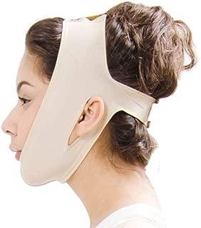 XIANWEI Ceinture Forme Forme Visage Joues Menton Corps Mince Eclaircissant Masque Anti-rides Bandouliere Ultra-fine Soulevement Extensible Bandage Levage Double Menton  taille  S-X