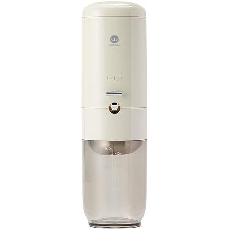 Wiswell ウィズウェル Water Dripper ウォータードリッパー コールドブリュー 本格 滴下式 水出し コーヒーサーバー クリーム 白 2~4杯用 (3倍希釈) WIS-WD201C