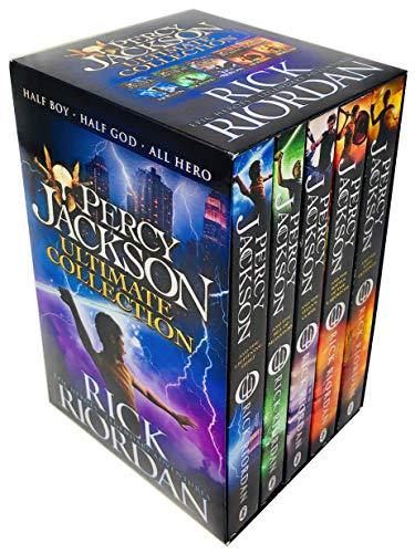 Percy Jackson Pack, 5 books, RRP 34.95 [Paperback] [Jan 01, 2014] Rick Riordan