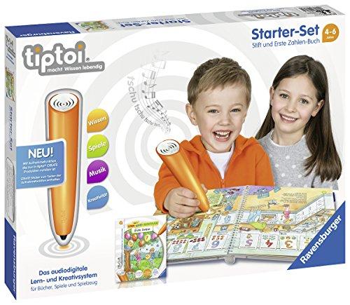Ravensburger tiptoi Starter-Set 00803: Stift und Erste Zahlen-Buch - Lernsystem für Kinder ab 4 Jahren
