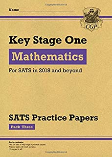 KS1 Maths SATS Practice Papers: Pack 3 (for the tests in 2018 and beyond)