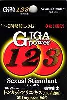 メイクトモロー ギガパワー123 3粒