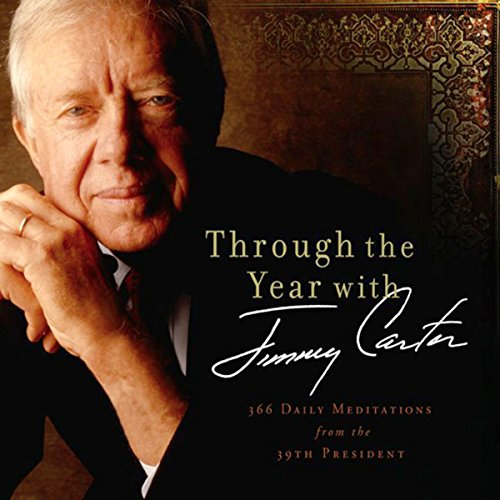 Through the Year with Jimmy Carter audiobook cover art