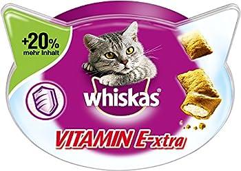 whiskas Chat Snacks Duo Licious avec Saumon et Yaourt, Lot de 6(6x 50g)