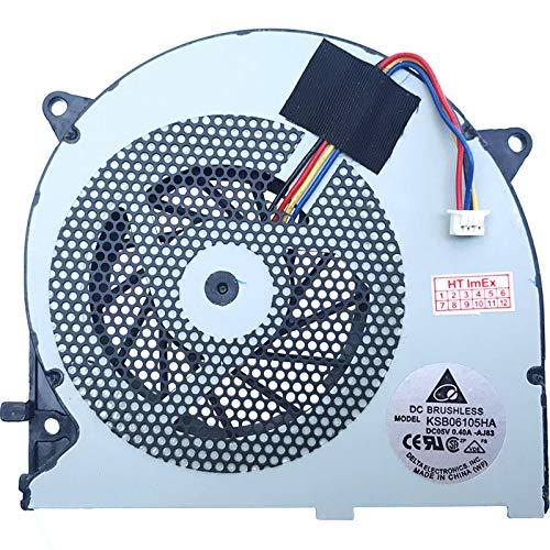 (VGA/GPU Version) Ventola/Ventola Compatibile con ASUS ROG G75, G75V, G75VW, G75VX, Modello: KSB0705HA-9J58, DC05V-0.40A, KSB06105HA-AJ83, DC05V-0.40A