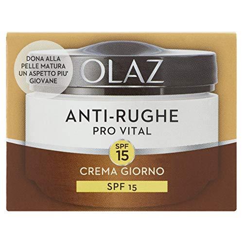 Olaz Anti-Rughe Pro Vital Crema Idratante Giorno Anti-Età con Spf15 50Ml