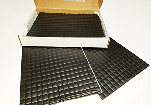 Vibro-Black 200 mil-The Thickest Firewall Sound Deadening Mat-Audio Noise Insulation Car Sound Dampening-Sound Insulator- Automotive Sound Deadener-Buy & Support Made in USA- Not Russia or China