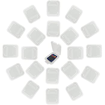 Genuine CANON Compact Flash Tarjeta de memoria CF gris de plástico caja de almacenamiento