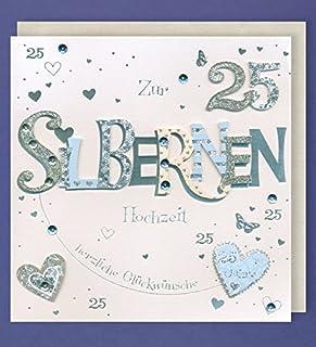 Suchergebnis Auf Amazon De Für Zur Silberhochzeit Karten