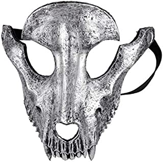 PKRISD Mascaras Disfraces Festival Day of The Dead Halloween Party Masquerade Creepy Horror Terror Scary Costume Skull Mask
