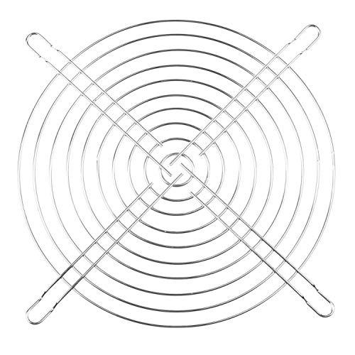 Fauge Caja de PC de Escritorio de Metal Ventilador Parrilla Protector de Dedos 180Mm