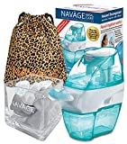 Navage Nasal Care Designer Bundle: Navage Nose Cleaner with 20 SaltPods, SaltPod Cube, and Travel Bag. 145.85 if Purchased Separately. You Save 28.90. for Improved Nasal Hygiene. (Leopard)