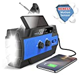 Best Solar Radios - Emergency Weather Flashlight Radio,2021 Newest Crank Solar NOAA Review