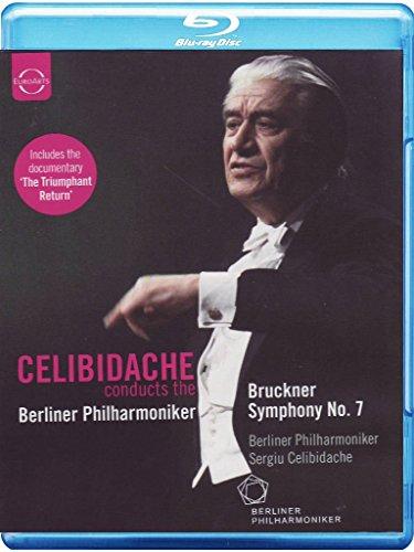Celibidache dirigert die Berliner Philharmoniker: Bruckner, Sinfonie Nr. 7 [Blu-ray]