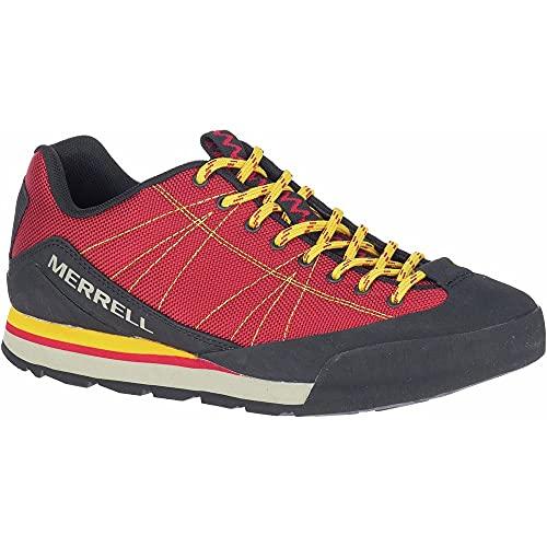 Merrell J2002783_46, Zapatillas de Trekking Unisex Adulto, Rojo, EU