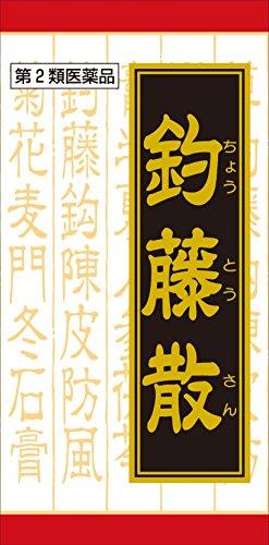 【第2類医薬品】「クラシエ」釣藤散料エキス錠 240錠