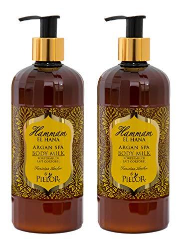 Set (2 x 400 ml) Argan Therapy Tunesischer Amber Körpermilch