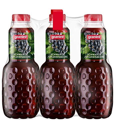 granini Trinkgenuss Schwarze Johannisbeere, 6er Pack (6 x 1 l)