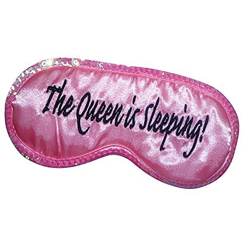 mascherine queen Diabolical Gifts DP0400 - Maschera per occhi da viaggio  Queen is Sleep
